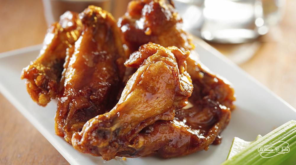 Alitas de pollo. Su origen y reinado en eventos deportivos