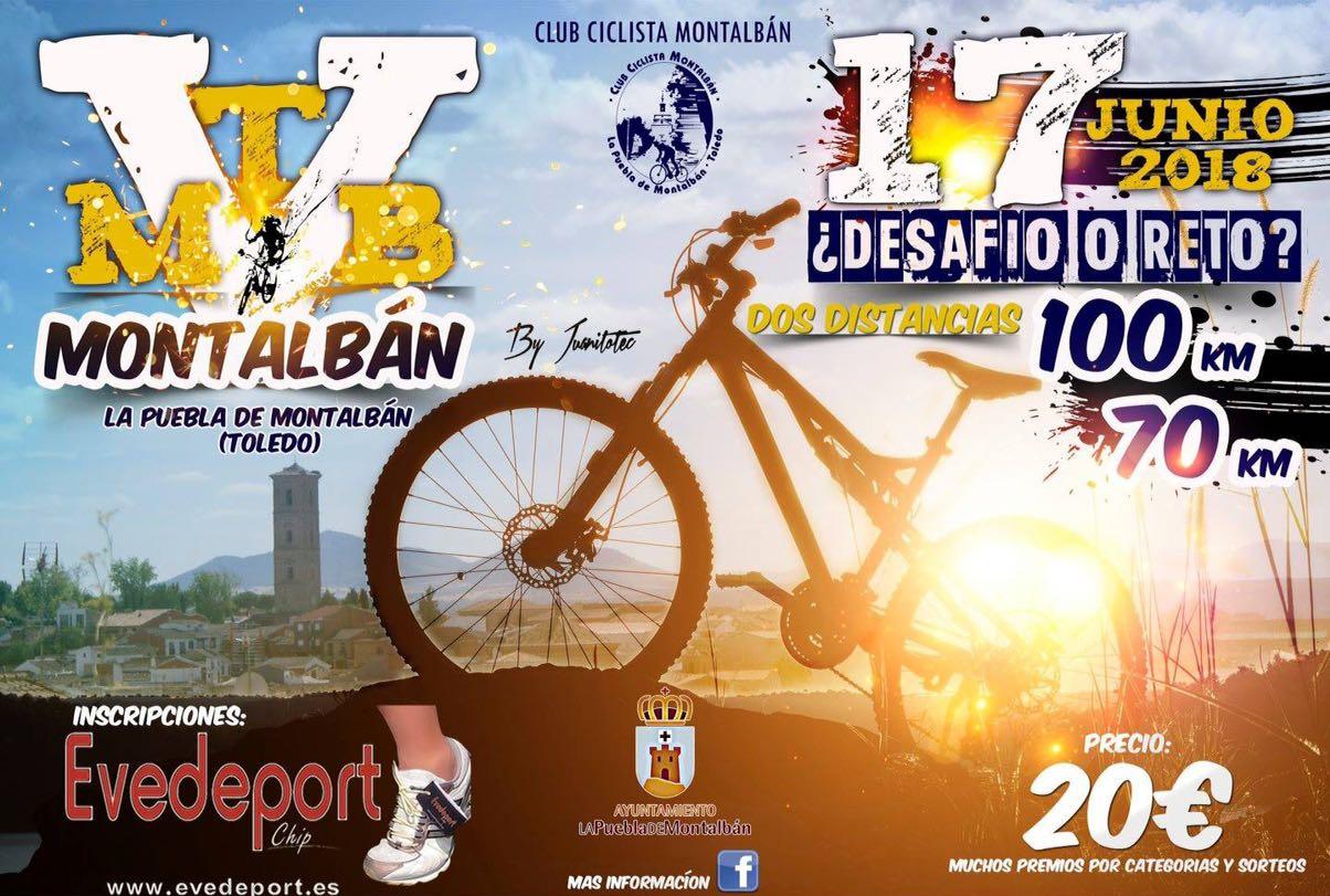 Carrera MTB Mountain Bike cartel poster