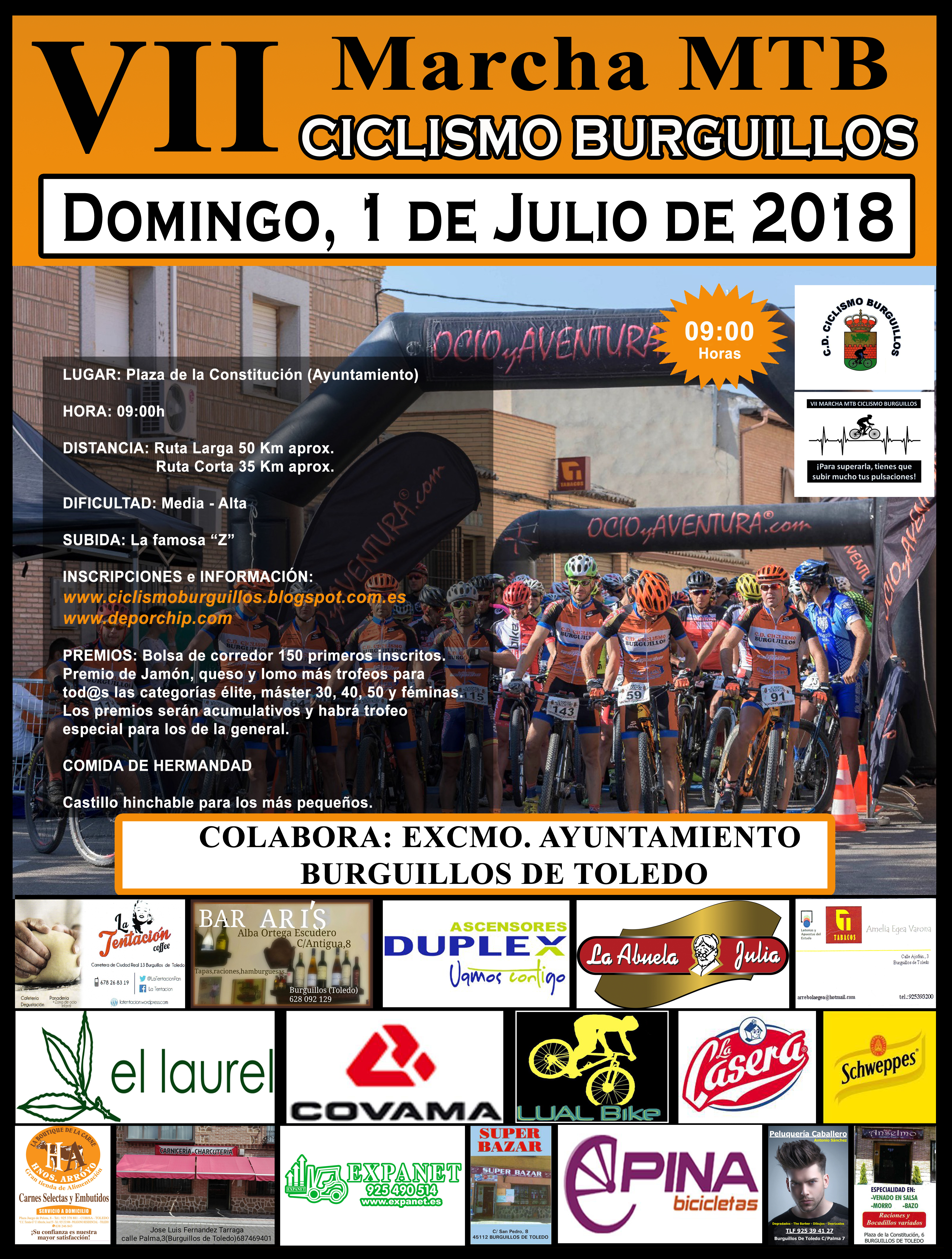 Carrera MTB poster