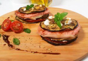 receta hamburguesa con berenjena
