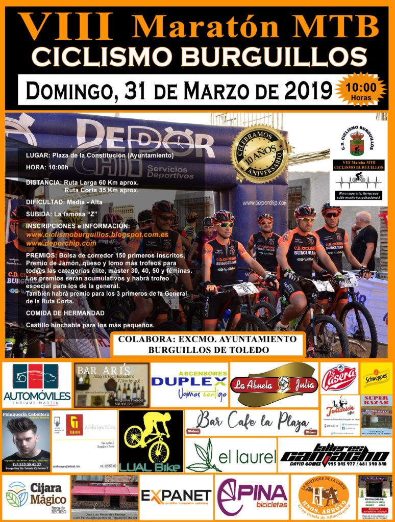 VIII Maratón MTB CICLISMO BURGUILLOS