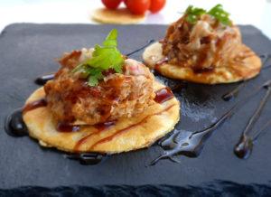 Tortitas saladas de pollo, jamón y ternera de La Abuela Julia
