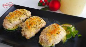 Receta de La Abuela Julia Rollitos de pollo con cebolla caramelizada